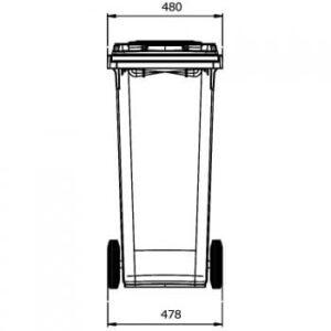 Contenedor_140_litros: vista horizontal